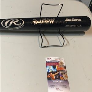 Other - Fred Mcgriff Autograph Signed Rawlings  Bat JSA